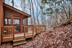 This cabin can be rented on Glamping Hub.