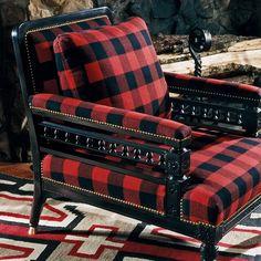 Ralph Lauren Home #Indian_Cove Collection 23 - Tartan Armchair