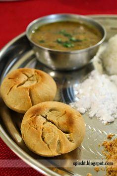 Dal Bati Recipe, Dal Recipe, Oven Recipes, Bread Recipes, Cooking Recipes, Easy Recipes, Indian Food Recipes, Vegetarian Recipes, Indian Sweets