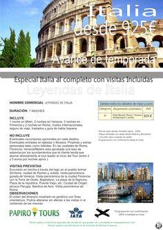 Italia - Avance de temporada  mayo y junio a Precios increíbles - http://zocotours.com/italia-avance-de-temporada-mayo-y-junio-a-precios-increibles-2/