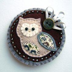 felted owl...very cute!!