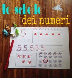 Il metodo analogico e le schede dei numeri