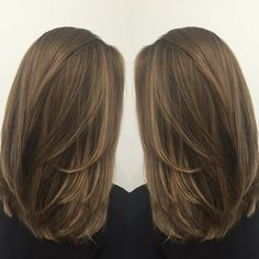 straight medium length haircuts, straight hairstyles, medium length hairstyles, new hairstyles in 2019 Straight Layered Hair, Haircuts Straight Hair, Medium Length Hair Straight, Long Face Hairstyles, Female Hairstyles, Haircuts For Medium Length Hair Layered, Easy Hairstyles, Medium Straight Haircut, Short Haircuts