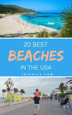Looking for the best beaches in the USA and wanting to know where to start? Beaches are great, but if you're like most, you're probably tired of hitting the same beach vacation spot year in and year out.  You mostly want to explore new and exciting beaches within the US and perhaps also the best beaches in the world. Most of the beaches on our list are also located in the best vacation spots in US and are worth visiting. Beach Vacation Spots, Beach Trip, Vacation Trips, Beach Travel, Hawaii Travel, Canada Travel, Asia Travel, Travel Usa, Vacations In The Us