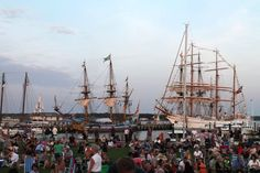 Greenport has been named 2015 Port City of the Year by Tall Ships America, the organization that brought the Tall Ships Challenge to the North Fork village in July.