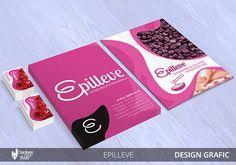 Design Grafic Epilleve: companie consumabile saloane infrumusetare #design grafic #saloane infrumusetare #branding #design #concepte #creative Branding, Cover, Books, Design, Brand Management, Libros, Book, Identity Branding