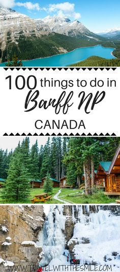 Are you planning a trip to Banff and don't know where to start and what to do? This article gives you an idea for Things to do in Banff Things to do in Lake Louise What to do in Canadian Rockies Best things to do in Banff Things to do in Jasper Banff Canada, Banff National Park Canada, Alberta Canada, Jasper National Park, Quebec, Montreal, Canadian Travel, Canadian Rockies, Places To Travel