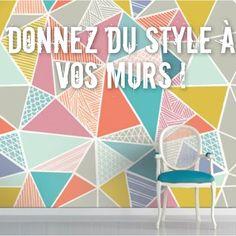 · Donnez du style à vos murs ! · Des imprimés pour vos murs, c'est LA solution pour changer de la routine, que ce soit en autocollant, en papier-peint ou peints à la main, jetez-vous à l'eau et regardez nos conseils sur le blog !