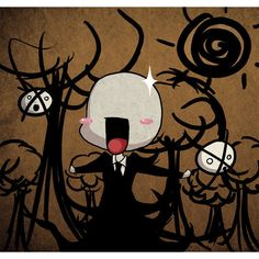 Slender Man Know Your Meme ❤ liked on Polyvore featuring anime, creepypasta, funny and pics