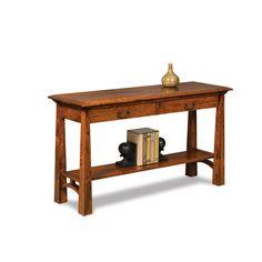 Amish Artesa Sofa Table With Drawers   Amish Furniture   Shipshewana  Furnitureu2026