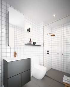 "759 Likes, 6 Comments - Scandinavian Colour + Design (@designstuff_group) on Instagram: ""// TALK IS CHEAP. Renovate my bathroom :) Design by @chamberlainarchitects ;) Team DS. X…"""
