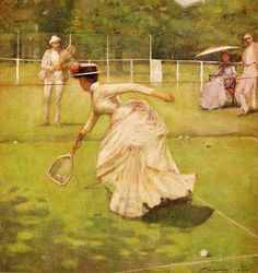 Victorian Sportswear: Tennis Fashions of the Late 19th Century – Mimi Matthews