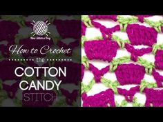 ▶ How to Crochet the Cotton Candy Stitch - YouTube