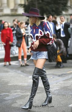#lenaperminova #elenaperminova #paris #boots #denim #shorts #jumper #pull #maill #women #beauty #beauté #fashion #women #style #look #outfit #streetfashion #streetstyle #street #women #mode #pfw #fashionweek #mbfw #femme #moda by #sophiemhabille