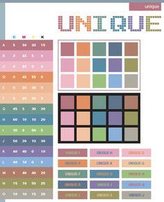 Unique color scheme