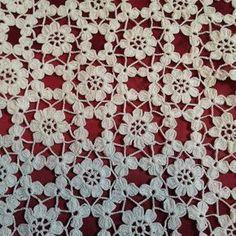 Irish lace Irish crochet flower motives, off white flower applique, Irish crochet decor, wedding dec Crochet Wool, Crochet Chart, Cotton Crochet, Irish Crochet, Crochet Motif, Crochet Doilies, Crochet Flowers, Crochet Stitches, Cloth Flowers