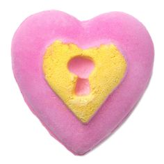 Love Locket Bath Bomb - What's inside this locket? You'll need to break it in half to find out!