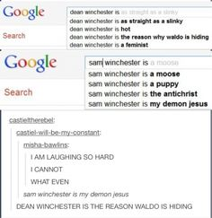 Dean Winchester is hot though
