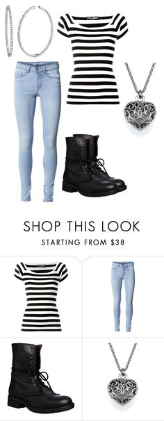 """""""Untitled #1343"""" by livy77 on Polyvore featuring Dolce&Gabbana, ONLY, Steve Madden and BERRICLE"""