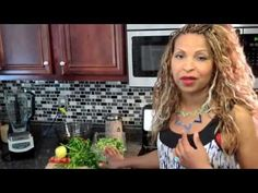 Grow your hair! Dee Carter Shows you how to make a smoothie using fruit and veggies with natural DHT (dihydrotestosterone) blockers to get your hair growing.