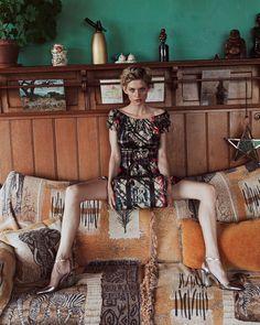 "@martinakarra in unserem ""Jenna"" Kleid im Adlerpatch von unserer neuen Sommer Kollektion💐 perfect for the sunny days ☀️ High Fashion, Shoulder Dress, Dresses, Summer, Gowns, Vestidos, Couture, High Fashion Photography, Dress"
