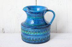 Large Vintage Bitossi Handled Vase Jug Rimini by afterglowretro, £65.00