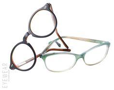 "#SASHEESCHUSTER ""BEPPI"" / ""RENATE"" #eyewearmagazine"