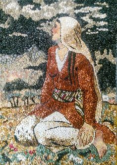 Mosaic Rocks, Pebble Mosaic, Pebble Art, Glass Wall Art, Stained Glass Art, Mosaic Artwork, Stone Pictures, Stone Art, Beautiful Paintings