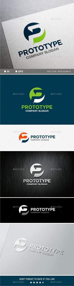 P Letter - Logo Design Template Vector #logotype Download it here: http://graphicriver.net/item/p-letter-logo-template/9941729?s_rank=266?ref=nesto