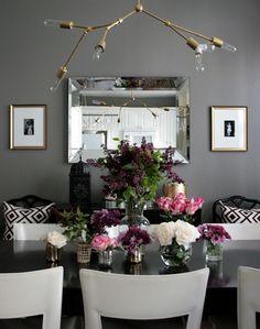 West Elm Gold Flatware - Contemporary - dining room - Erika Brechtel