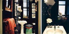 black bathroom love