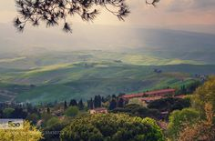 - Pinned by Mak Khalaf Landscapes hillsItalyTuscanyVolterracloudsgreenitalylandscapelightmountainmountainsskysuntraveltreetreesvalley by dotsik