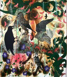 James Aldridge.    Fever, 2010. Acrylic on canvas, 175 x 150cm.