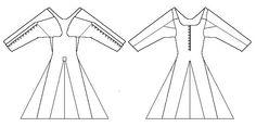 15th century  irish moy gowns | f29124bb8f2f0903efcb4fe6f5453ec3.jpg