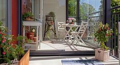 Windoor - Inspiration till din inglasad balkong
