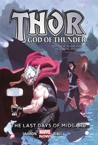 http://www.adlibris.com/se/organisationer/product.aspx?isbn=0785189912 | Titel: Thor: God Of Thunder Volume 4: The Last Days Of Midgard (marvel Now) - Författare: Jason Aaron - ISBN: 0785189912 - Pris: 168 kr