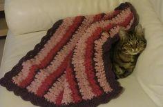 One-Ball Baby Blanket - crochet