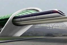 Το τρένο του μέλλοντος σε κενό αέρος