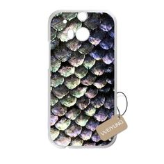 Buy Diy Customized Cell Phone Case for Mermaid Scales White HTC One M9 Hard Back Cover Shell Phone Case (Fit: HTC One M9) NEW for 2.56 USD | Reusell