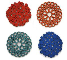 Laser cut trivets by Molly M Designs exclusively at Pot & Pantry