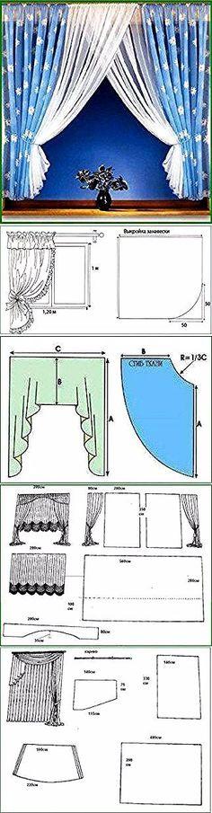 New Kitchen Window Dressing Ideas Design Ideas Kitchen Window Dressing, Kitchen Window Curtains, Kitchen Window Treatments, No Sew Curtains, Home Curtains, Curtain Patterns, Curtain Designs, Rideaux Design, Beautiful Curtains