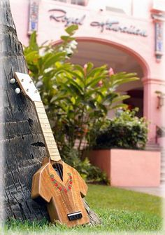 hawaiian shirt ukulele