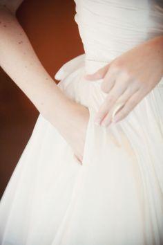 wedding dress with pockets?!