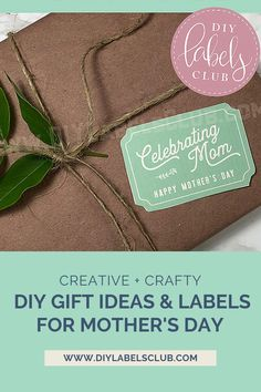 Reward your mothers and teachers for working so hard all year by letting them know how much you care on Mother's Day and Teacher Appreciation Day. Head over to the DIY Labels Club blog for the best list of DIY gift ideas and ultimate gift tag + label pack, then get to work putting together the perfect gift packs for your moms and teachers. Teacher Christmas Gifts, Unique Christmas Gifts, Holiday Crafts, Diy Gifts For Mothers, Diy Body Butter, Homemade Essential Oils, Diy Videos, Teacher Appreciation, Label