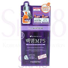 Mediheal Mediental 2-steps Baek-Myeong MPS Mask (Brightening)