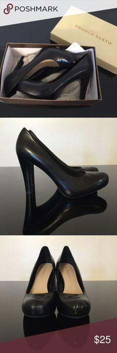 76276e0fe NEW Franco Sarto Cicero Leather High Heel Pumps Brand new in box. Franco  Sarto Cicero