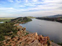 Aggie A hike, Fort Collins, Colorado, CSU, Horsetooth Reservoir