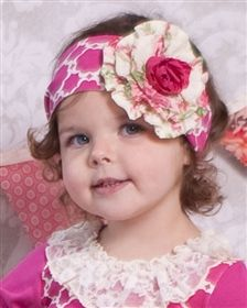 Giggle Moon Baby - Raspberry Truffle - Knit Headband