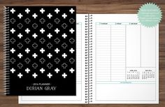 2016 2017 planner custom planner student planner VERTICAL LAYOUT weekly monthly…