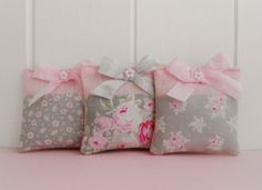 Shabby chic Lavender Drawer Sachets by picocrafts on Etsy, $12.00